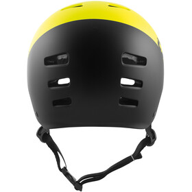TSG Evolution Graphic Design Helmet Youth divided acid yellow-black